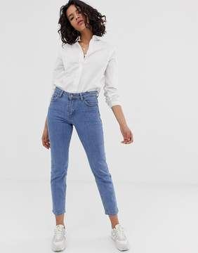 Dr. Denim Edie High Waisted Slim Mom Jean