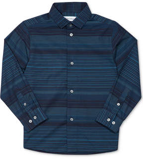 Calvin Klein Striped Shirt, Big Boys (8-20)