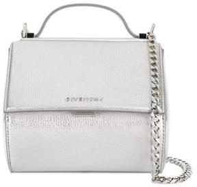 Givenchy Women's Silver Leather Handbag.