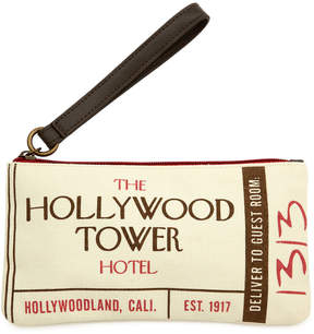 Disney Hollywood Tower Hotel Wristlet
