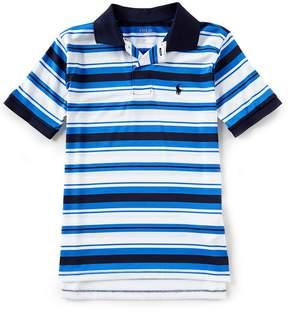 Ralph Lauren Big Boys 8-20 Short-Sleeve Striped Moisture-Wicking Polo Shirt