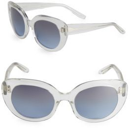 Barton Perreira 51MM Butterfly Sunglasses