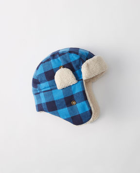 Hanna Andersson Insulated Sherpa Trapper Hat