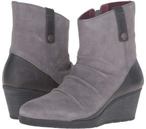 The North Face Bridgeton Wedge Zip Women's Lace-up Boots