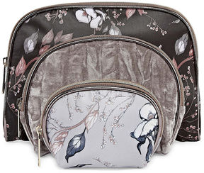 Liz Claiborne 3-pc. Makeup Bag Set