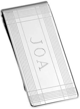 Asstd National Brand Personalized Tartan Plaid Money Clip