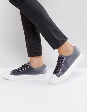 Park Lane Velvet Sneaker