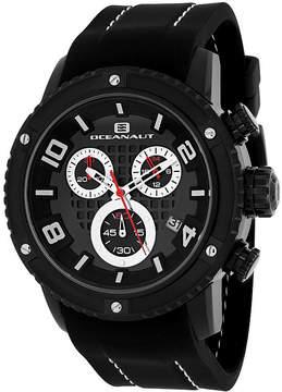 Oceanaut Mens Black Strap Watch-Oc3124r