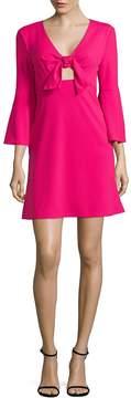 ABS by Allen Schwartz Women's Tie-Front Dress