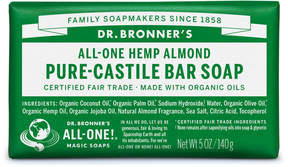 Dr. Bronner's Almond Pure-Castile Bar Soap