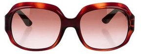 Emilio Pucci Square Tortoiseshell Sunglasses