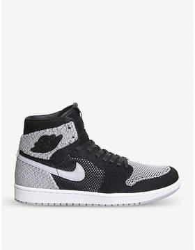 Nike Jordan 1 Retro Flyknit high-top trainers