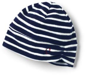 Lands' End Lands'end Women's 100 Fleece Ruched Pattern Hat