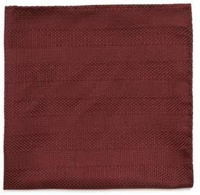 Giorgio Armani Geometric silk-jacquard pocket square