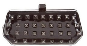 Rebecca Minkoff Studded Patent Leather Clutch - BLACK - STYLE