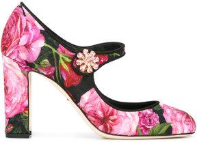 Dolce & Gabbana jewel clasp mary janes