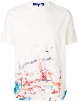 Junya Watanabe printed crew neck T-shirt