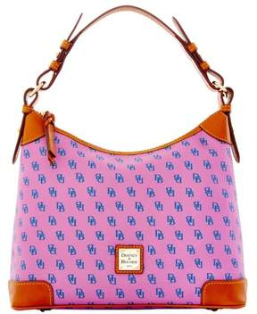 Dooney & Bourke Gretta Hobo Shoulder Bag - LAVENDER BLUE - STYLE