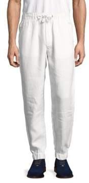 Original Paperbacks Catalina Elastic Cuff Linen Jogger Pants