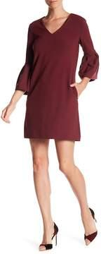 Donna Morgan Bell Sleeve Shift Dress