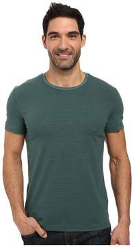 Kenneth Cole Sportswear Stripe Cotton Tech Tee Men's T Shirt