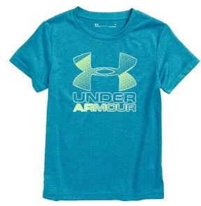 Under Armour Toddler Boy's Big Logo Hybrid 2.0 Heatgear T-Shirt
