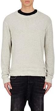 R 13 Men's Distressed Sweatshirt