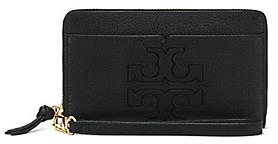 Tory Burch Harper Smartphone Wristlet - BLACK - STYLE