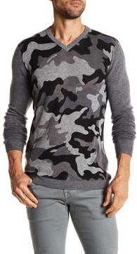 Autumn Cashmere Camo Inked Cashmere Sweater