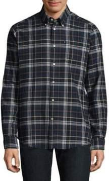 Barbour Blane Check Button-Down Shirt