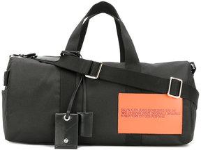 Calvin Klein 205W39nyc original patch holdall
