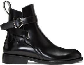 Acne Studios Black Julian Jodhpur Boots