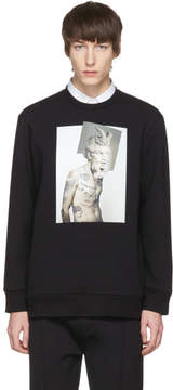 Neil Barrett Black Hybrid Tattoo Sculpture 02 Sweatshirt