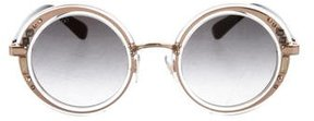 Jimmy Choo Gem Round Sunglasses