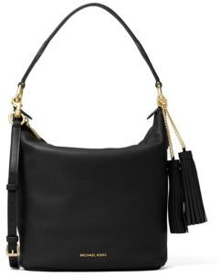 MICHAEL MICHAEL KORS Tasseled Leather Shoulder Bag