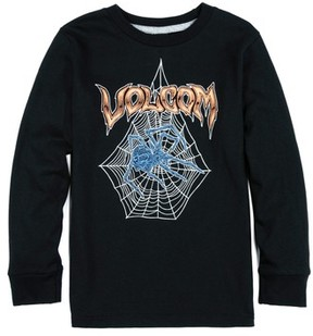 Volcom Toddler Boy's Venom Spider Glow-In-The-Dark Long Sleeve T-Shirt