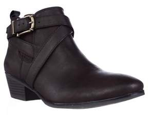 Style&Co. Sc35 Harperr Ankle Booties, Chocolate.