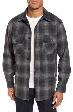Pendleton Men's Quilted Wool Shirt Jacket