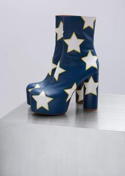 Vetements Platform Boots With Stars