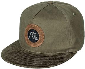 Quiksilver Forest Night Braggle Rock Baseball Cap