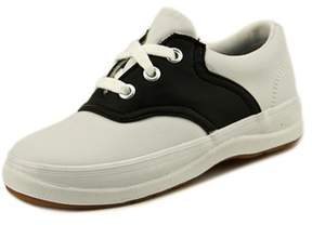 Keds School Days Ii Toddler Round Toe Leather White Sneakers.