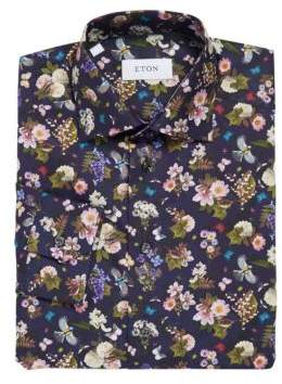 Eton Slim-Fit Printed Shirt