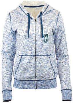 5th & Ocean Women's Seattle Mariners Space Dye Hooded Sweatshirt