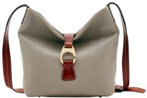 Dooney & Bourke Derby Pebble Crossbody Hobo - PUTTY - STYLE