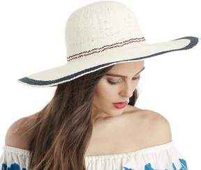 Sole Society Rustic Stripe Sun Hat