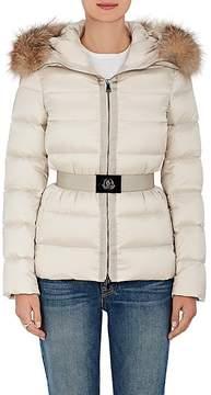 Moncler Women's Tatie Fur-Trimmed Down Coat