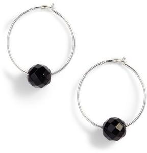 Chan Luu Women's Semiprecious Stone Frontal Hoop Earrings
