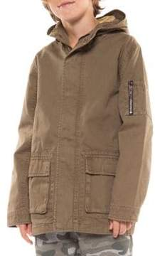 Dex Boy's Hooded Cotton Jacket