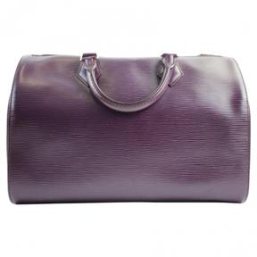 Louis Vuitton Satchel - PURPLE - STYLE