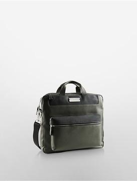 Tonal Double Compartment Briefcase